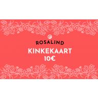 Rosalind e-poe kinkekaart 10 €