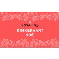 Rosalind e-poe kinkekaart 20 €