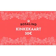 Rosalind e-poe kinkekaart 30 €