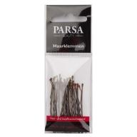 PARSA 26515 juukseklambrid 5 cm/20 tk/pruunid