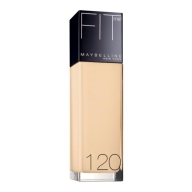 Maybelline Fit Me! Liquid Foundation jumestuskreem 120