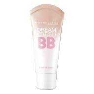 Maybelline Dream fresh Pure BB-kreem Light heledale nahale