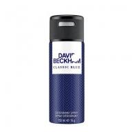 David Beckham Classic Blue Body Spray deodorant 150ml