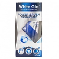White Glo Diamond Power Brush valgendav hambapasta