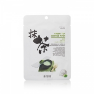 Mitomo Green Tea Essence Mask rohelise tee essentsi näomask