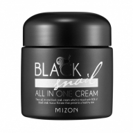 Mizon Black Snail All In One Cream, näokreem 90% musta teo mutsiiniga