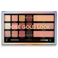 Profusion Rose Gold Look lauvärvipalett