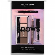 Profusion Brows Light to Medium kulmupalett 7251