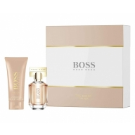 Hugo Boss The Scent For Her Set Eau de Parfum 100 ml+ihupiim 200 ml