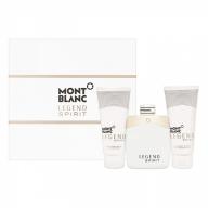 Mont Blanc Legend Spirit Set Eau de Toilette 100 ml+After Shave Balm 100 ml+Shower Gel 100 ml