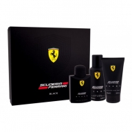 Ferrari Scuderia Black SEt Eau de Toilette 125ml+Shower Gel+Deodorant