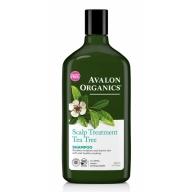 Avalon Organics Scalp Treatment šampoon teepuuõliga