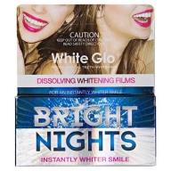 White Glo Bright Nights valgendavad ribad hammastele 6 tk