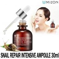 Mizon Snail Repair Intensive Ampoule, kontsentreeritud 80% teolima seerum