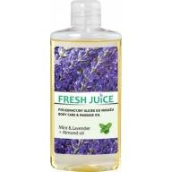 Fresh Juice massaažiõli münt-lavendel 3952