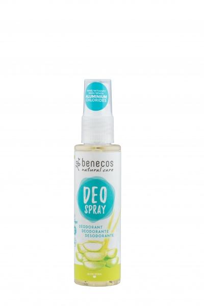 Benecos värskendav deodorant sprei aaloega  877
